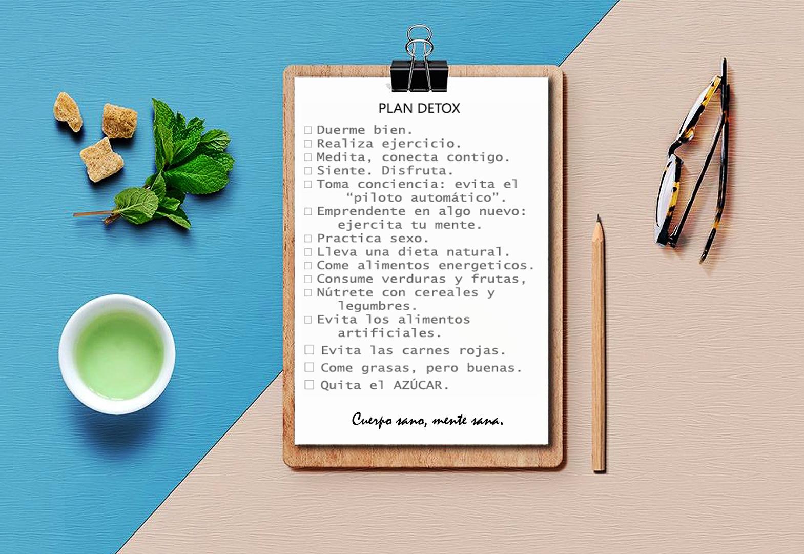 plan detox cuerpo y mente