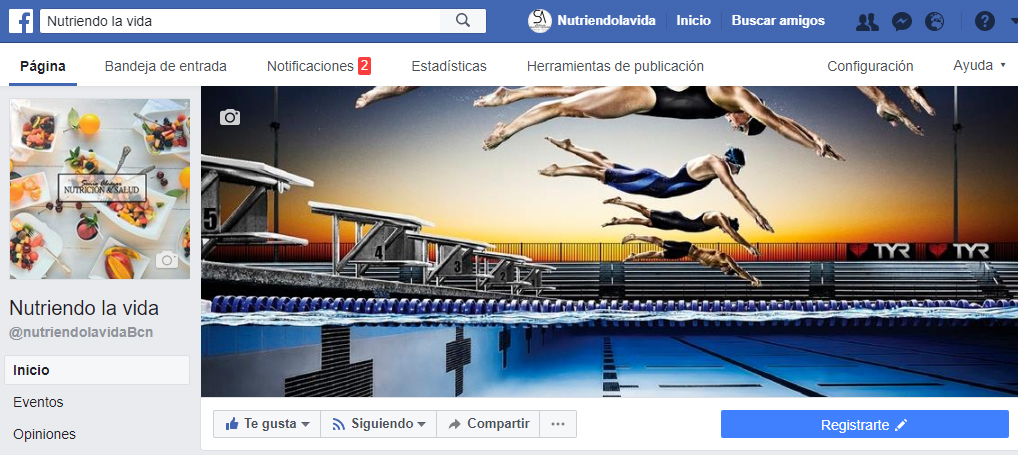 nutriendo la vida facebook